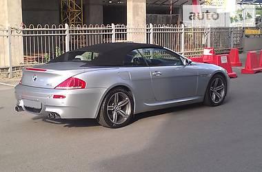 BMW M6 5.0i V10 Cabrio 2007