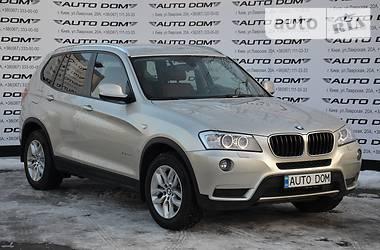 BMW X3 2.0D X-DRIVE 2013