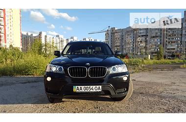 BMW X3 2.0 twin-power turbo 2013