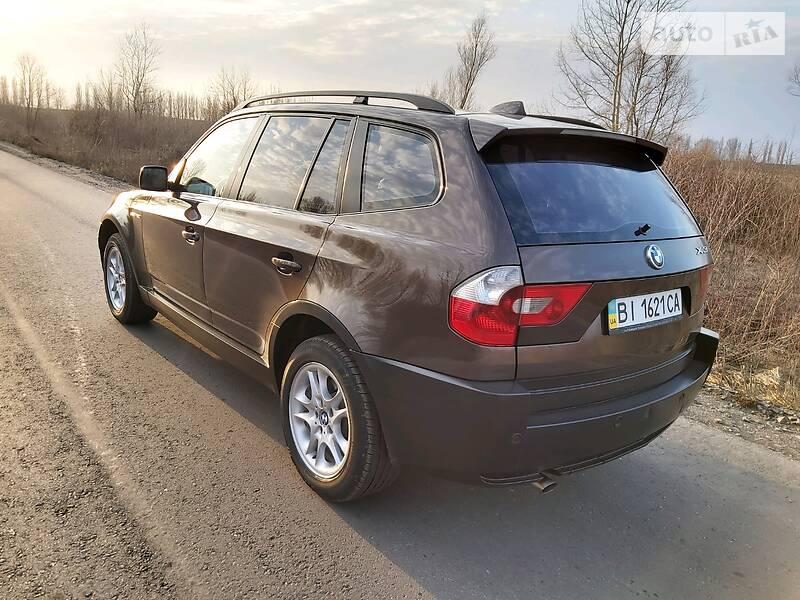 Внедорожник / Кроссовер BMW X3