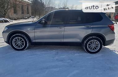 BMW X3 4X4 Europa  2012