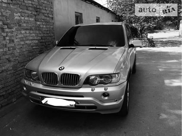 BMW X5 2001 года