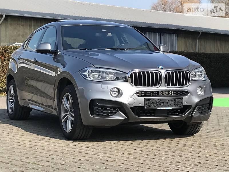 BMW X6 2016 года