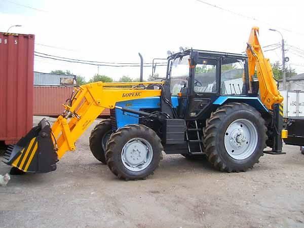 Резина на трактор МТЗ-52/82 (1:43)