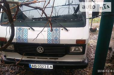 Характеристики Volkswagen LT груз. Бортовой
