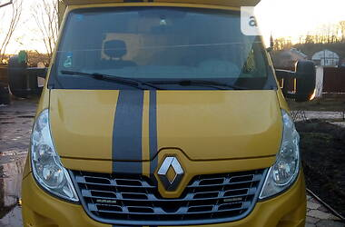 Характеристики Renault Master груз. Бортовой