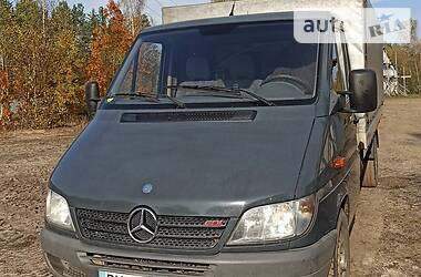 Характеристики Mercedes-Benz Sprinter 313 груз. Бортовой