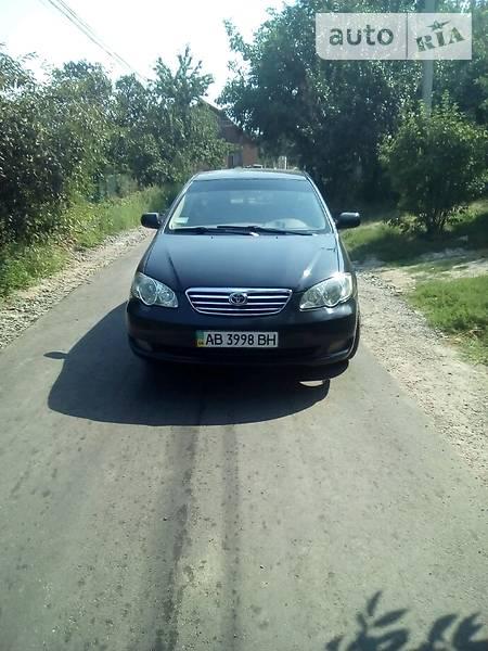 BYD F3 2006 года