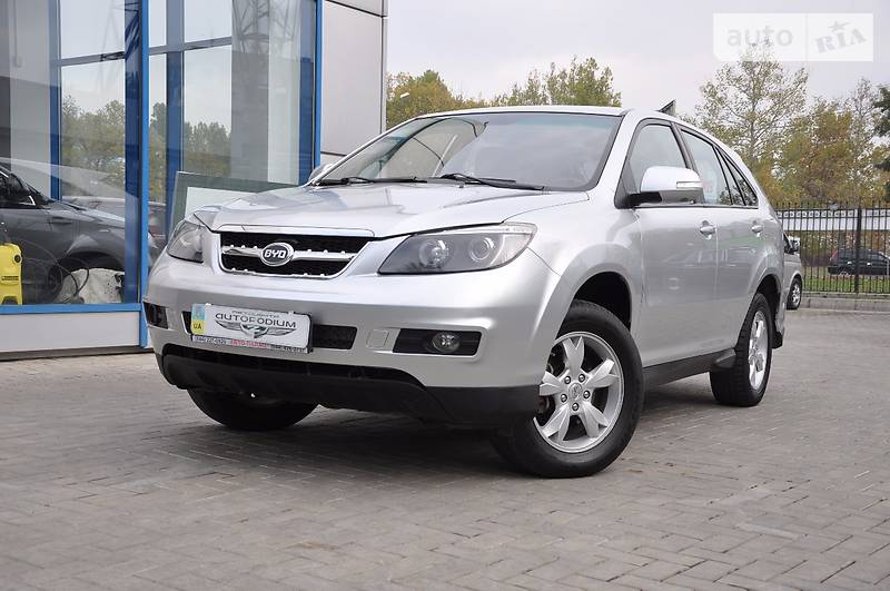 BYD S6 2013 года