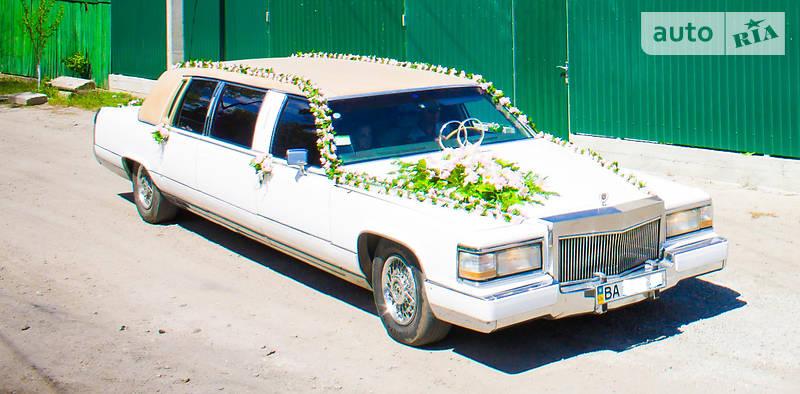 Cadillac Brougham 1990 року