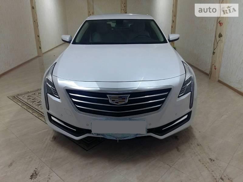 Cadillac CT6 2016 года