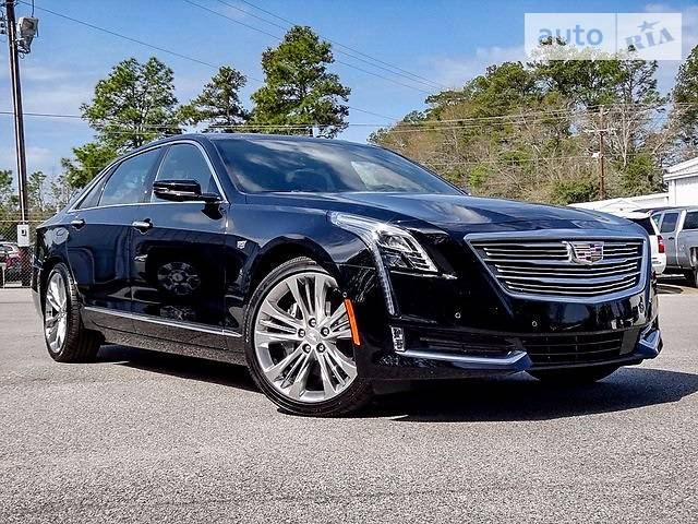 Cadillac CT6 2017 года