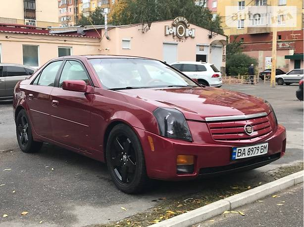 Cadillac CTS 2005 року
