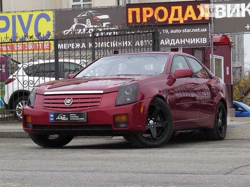 Cadillac CTS 2004 року