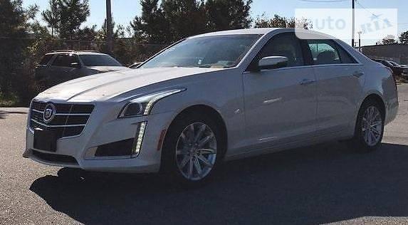 Cadillac CTS 2014 року