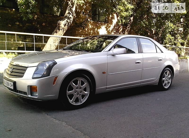 Cadillac CTS 2003 года