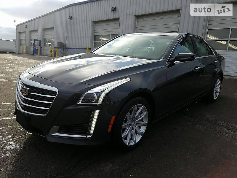 Cadillac CTS 2015 року