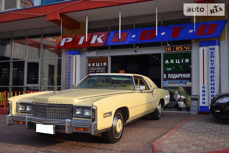 Cadillac Eldorado 1978 року