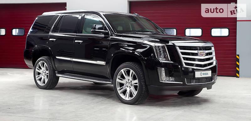 Cadillac Escalade 2017 года
