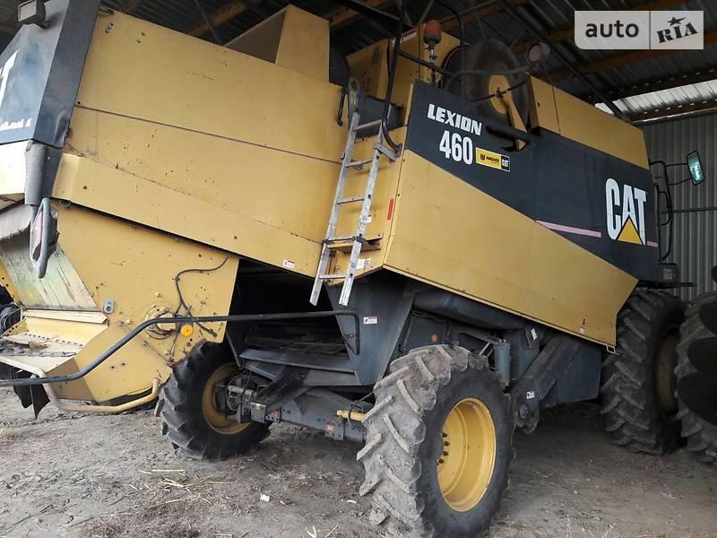 CAT Lexion 460