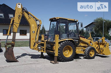 Caterpillar 428 C Turbo 1999