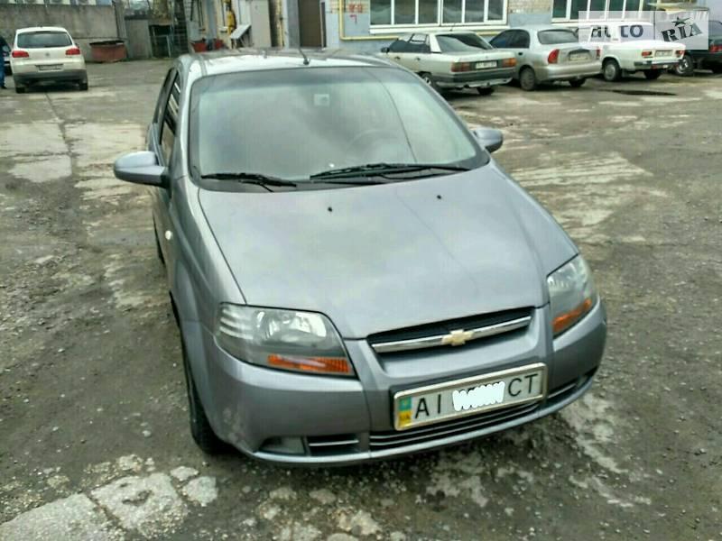 Chevrolet Aveo 2006 года