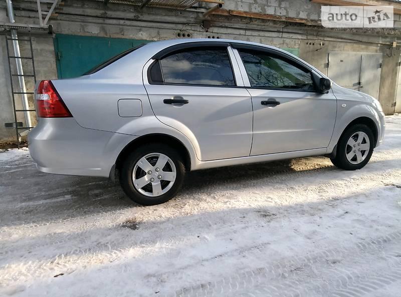 Chevrolet Aveo 2007 года