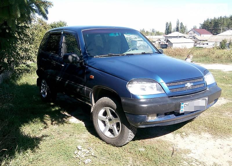 Chevrolet Niva 2006 года