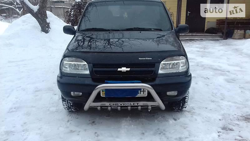 Chevrolet Niva 2007 года