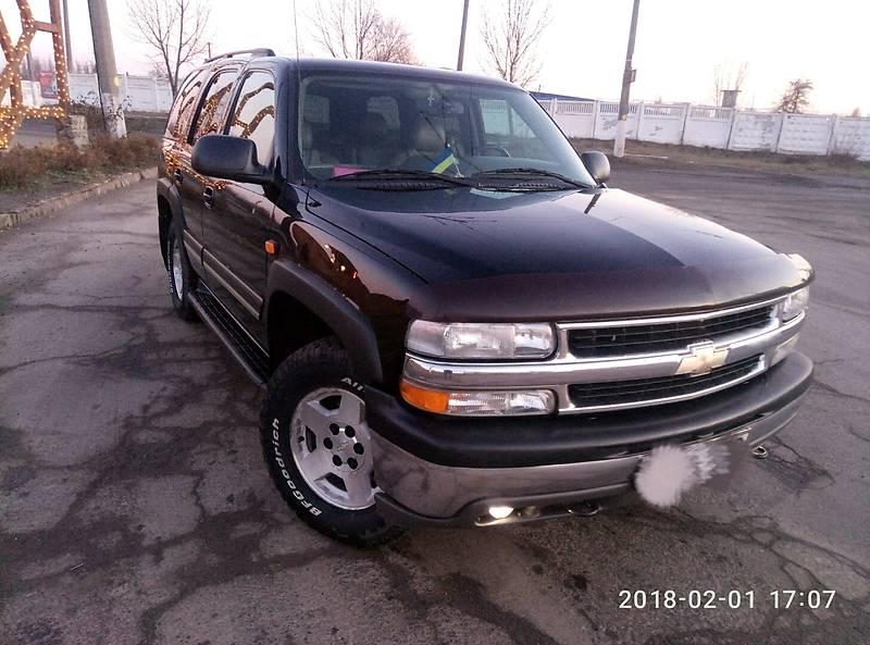 Chevrolet Tahoe 2005 года
