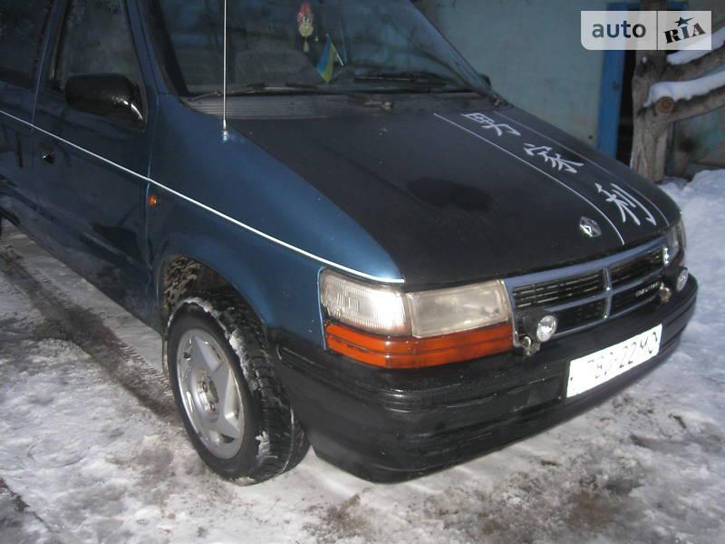 Chrysler Grand Voyager 1990 года