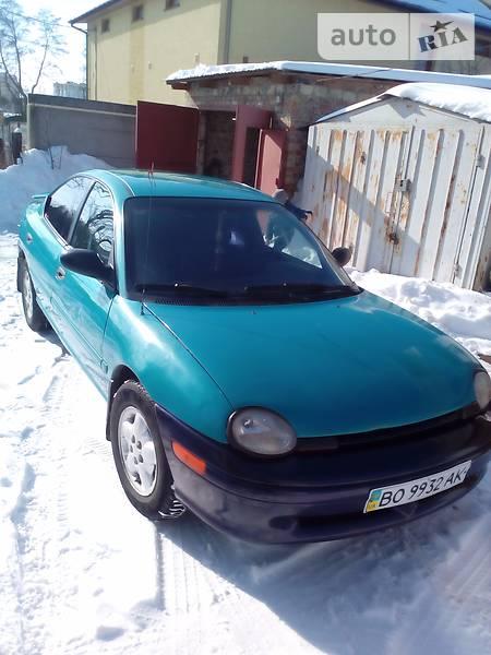 Chrysler Neon 1996 года