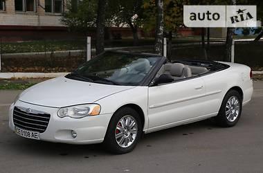 Chrysler Sebring 2.7 V6 convertible 2003