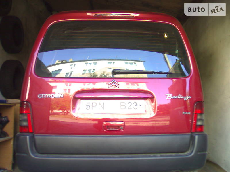 Citroen Berlingo груз. 2004 року