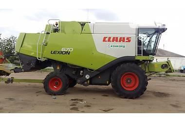 Claas Lexion 670 2012