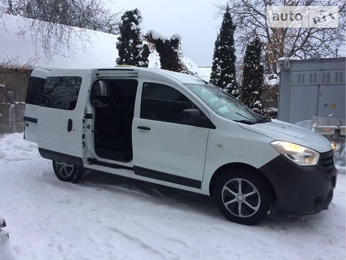 Dacia Dokker пасс.