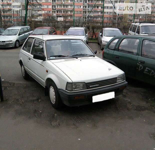 Daihatsu Charade 1986 года