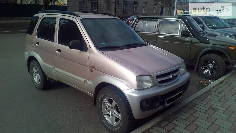 Daihatsu Terios 2006 года