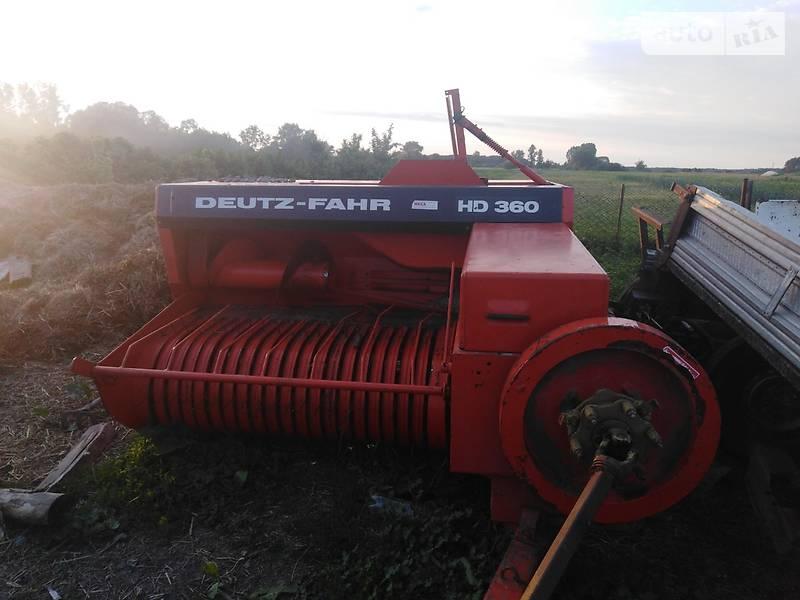 Deutz-Fahr HD360