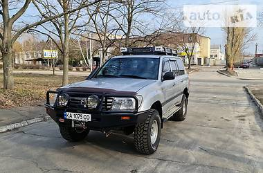Цены Toyota Land Cruiser 105 Дизель