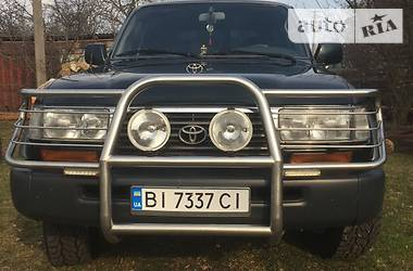 Цены Toyota Land Cruiser 80 Дизель