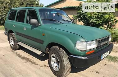 Цены Toyota Land Cruiser 80 Дизель
