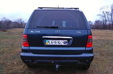 Цены Mercedes-Benz ML 270 Дизель