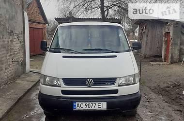 Цены Volkswagen T4 (Transporter) груз. Дизель