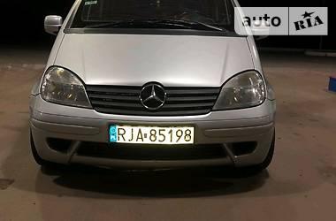 Ціни Mercedes-Benz Vaneo Дизель