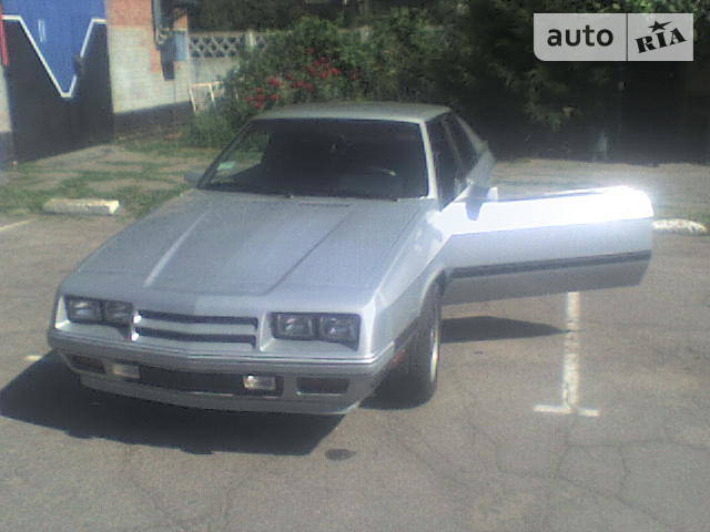 Dodge Charger 1987 года
