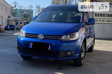 Характеристики Volkswagen Caddy пасс. Другой