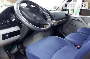 Характеристики Volkswagen LT пасс. Інший
