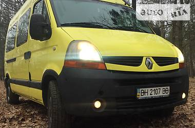 Характеристики Renault Master пасс. Другой