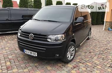 Характеристики Volkswagen Multivan Другой
